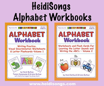 Alphabet Workbooks