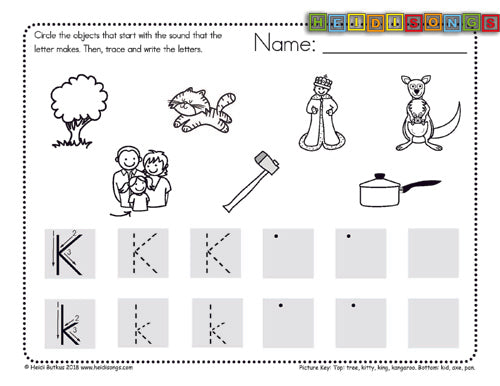 Alphabet Circle Trace Worksheets