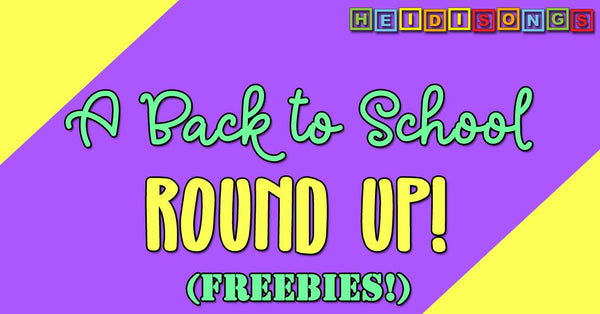 A Back to School Round Up! Freebies!