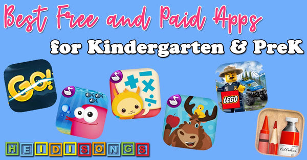 Best Free and Paid Apps for Kindergarten & PreK