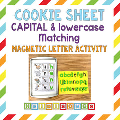 Cookie Sheet Capital and Lowercase Activity