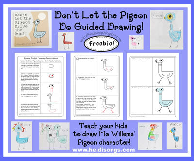 Don't Let the Pigeon Do Guided Drawing