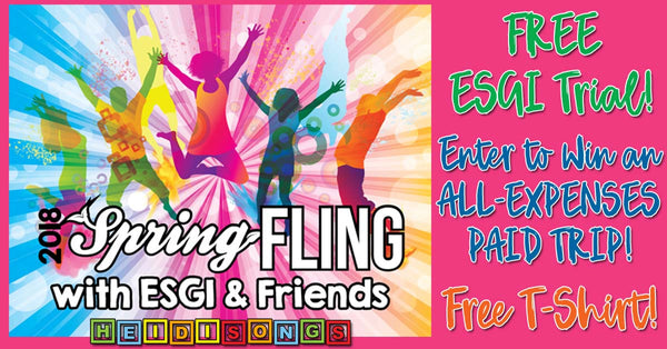 SPRING FLING 2018 with ESGI & Friends!