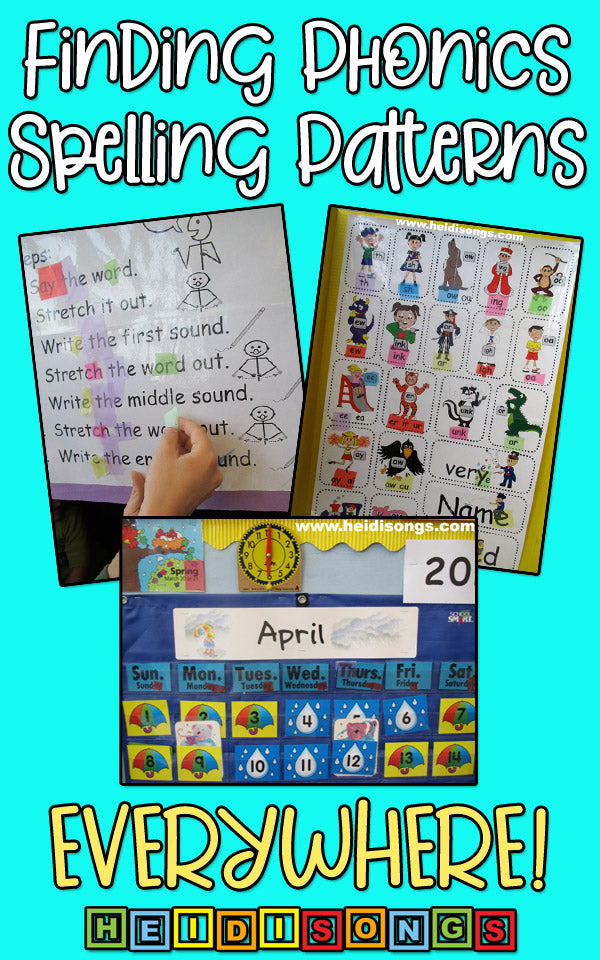 phonics spelling patterns everywhere!