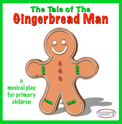 Gingerbread Man Play Cover