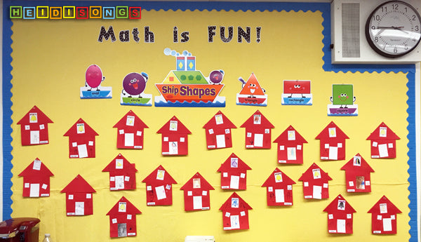 Shape Schools Bulletin Board
