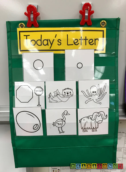 Letter of the Day - O - Classroom Chart