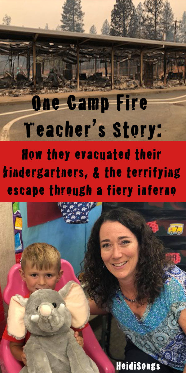 One Camp Fire Teacher's Story:  How She Evacuated Her Students and Fled Through a Fiery Inferno