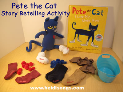 Pete the Cat Retelling