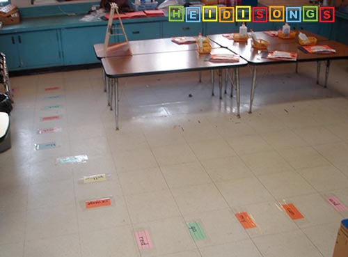 Sight Word Line Up