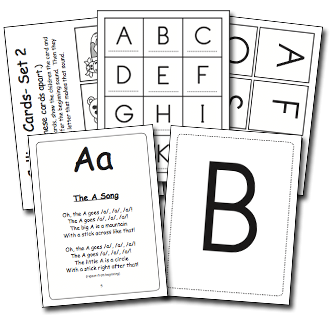 Singable Song Flashcards