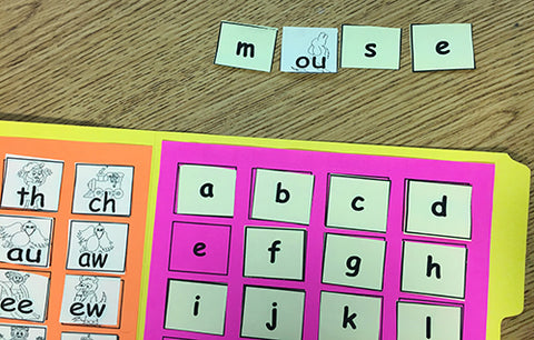 Sticky Note Word Builder