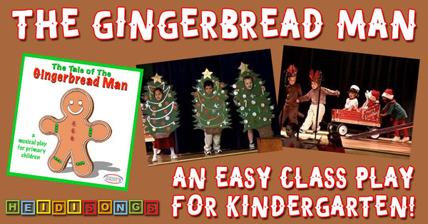 The Gingerbread Man Primary Play!