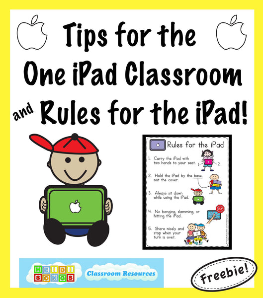 Tips for the One iPad Classroom