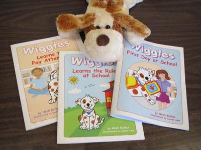 Wiggles Puppet and Books