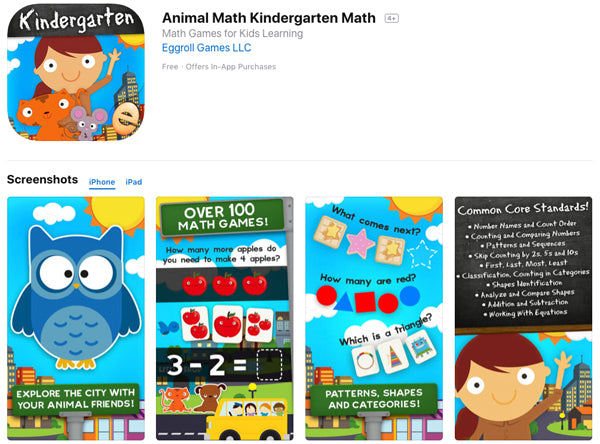 Animal Math Kingdom App