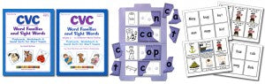 CVC Vol.1-2 Workbook-Puzzles-BBangArt