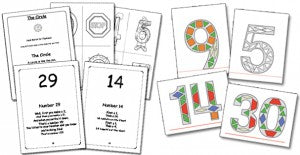 Jumpin' Numbers Songbook & Number Pattern Blocks