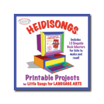 Little Songs for Printable Projects CD