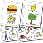 Rhyming Cards Activity and Bingo Game
