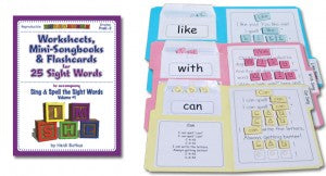 Sing & Spell Workbooks & Puzzles