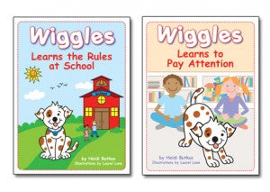 Wiggles Learns the Rules at School Book
