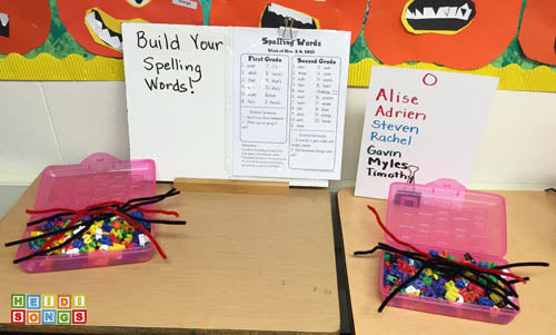 Build Your Spelling Words