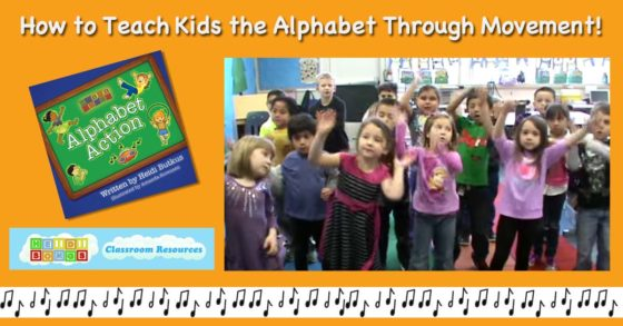 How to teach the alphabet through movement