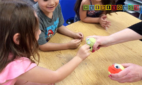 Mr. Ball What Comes Next? Game - heidisongs, kindergarten, numbers, counting