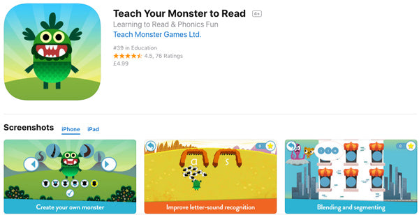 Teach You Monster to Read