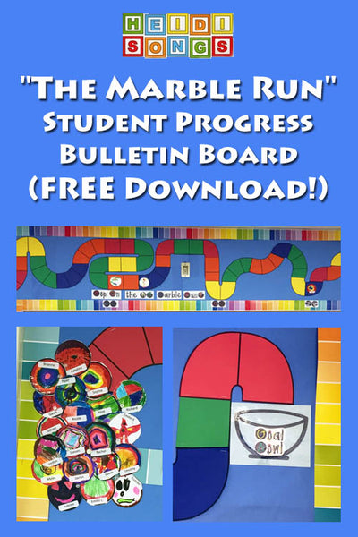 The Marble Run Progress Bulletin Board FREEBIE