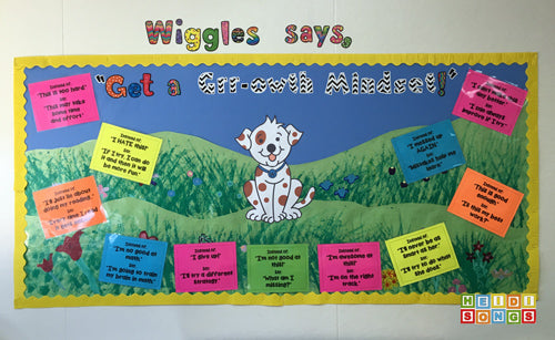 Wiggles Says Bulletin Board