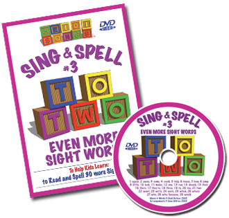 Heidi Songs: Sing & Spell the Sight Words - Volume 3 DVD