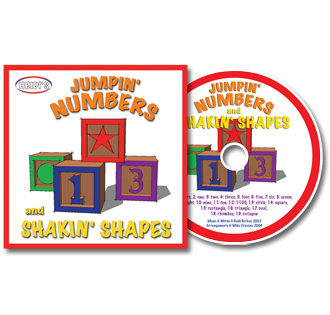 Jumpin' Numbers & Shakin' Shapes - Vol. 1 CD