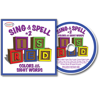 Heidi Songs: Sing & Spell the Sight Words - Volume 2 CD
