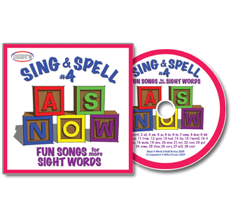 Heidi Songs: Sing & Spell the Sight Words - Volume 4 CD