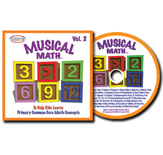 Heidi Songs: Musical Math Vol. 2 CD