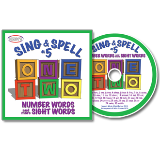 Heidi Songs: Sing & Spell the Sight Words - Volume 5 CD