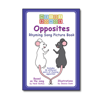 Opposites Rhyming Picture Book