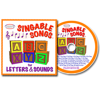 Heidi Songs: Singable Songs for Letters and Sounds CD