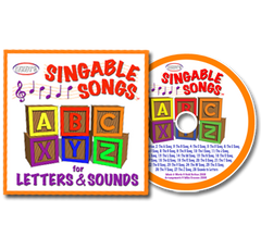 Singable Songs for Letters and Sounds CD