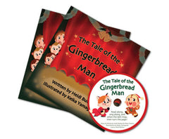 The Gingerbread Man Book & CD Listening Center Set