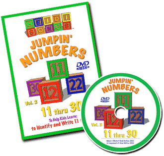 Jumpin' Numbers 11-30 Vol. 2 DVD