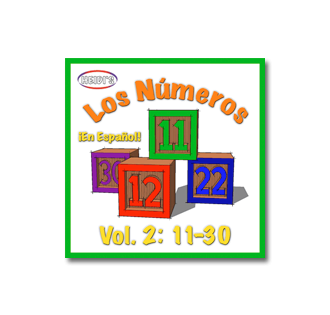 Numbers 11-30 in Spanish - Music