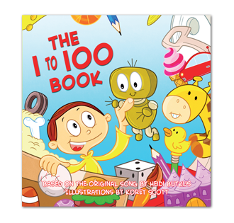 The 1-100 Counting Picture Book