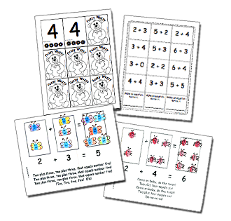 Musical Math Fun Addition Book and Games