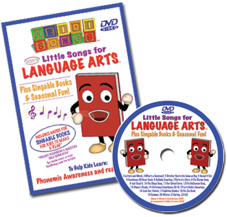 Heidi Songs: Little Songs for Language Arts DVD