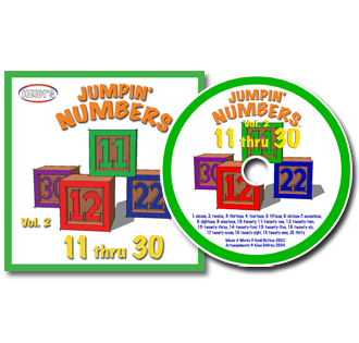 Heidi Songs: Jumpin' Numbers 11-30 - Vol. 2 CD