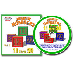 Jumpin' Numbers Vol. 2 CD