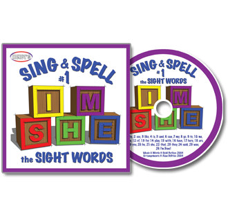 Heidi Songs: Sing & Spell the Sight Words - Volume 1 CD